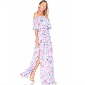 Show Me Your MuMu Hacienda Maxi Dress Poppy Daze